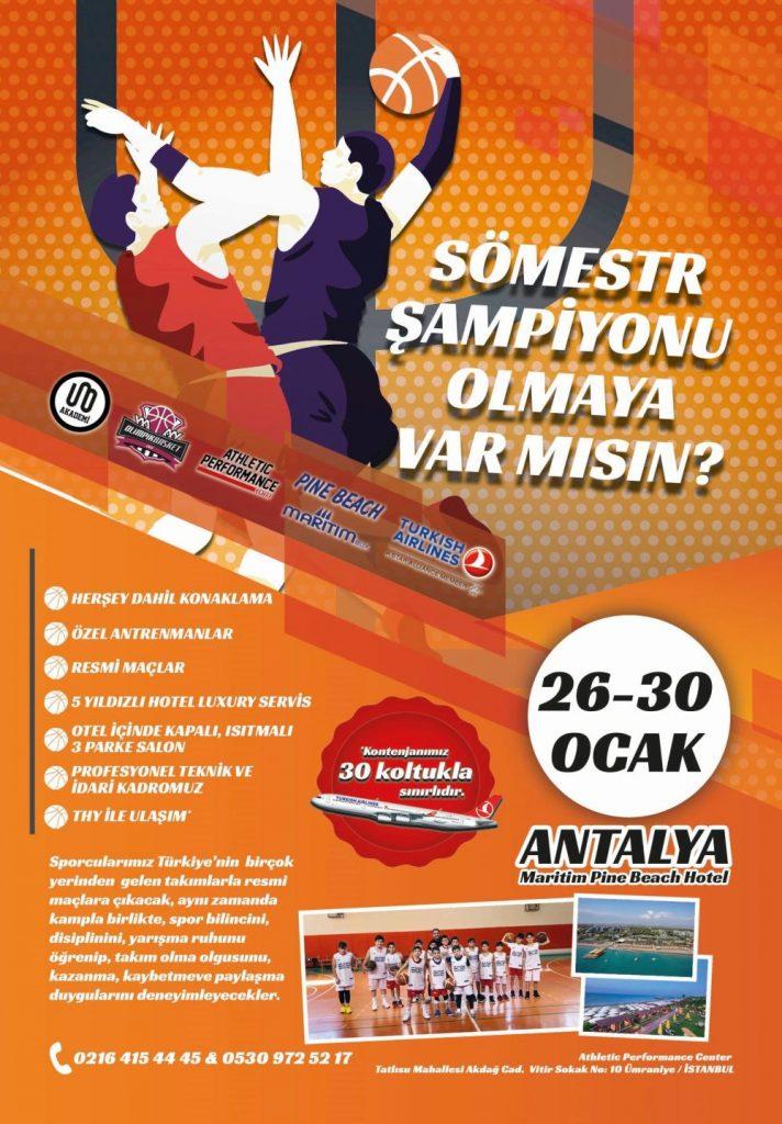 Sömestr Kampı 2019 Antalya